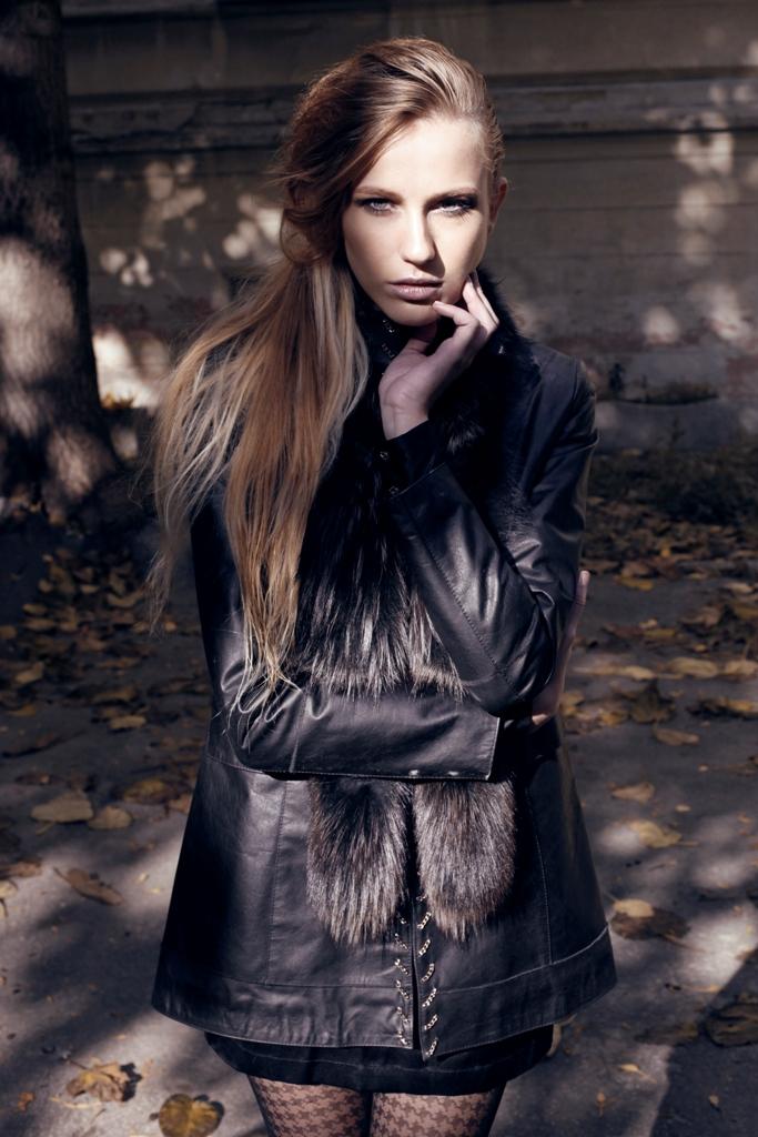 Kožušinové kabáty   Kožušinový kabát 8 4ef923d1e37